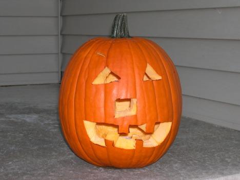 Our happy pumpkin